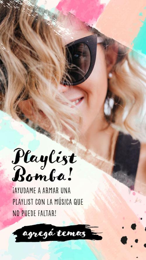 invitacion digital virtual 15 años playlist spotify musica