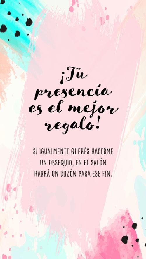 invitacion digital virtual 15 años rosa fucsia aqua