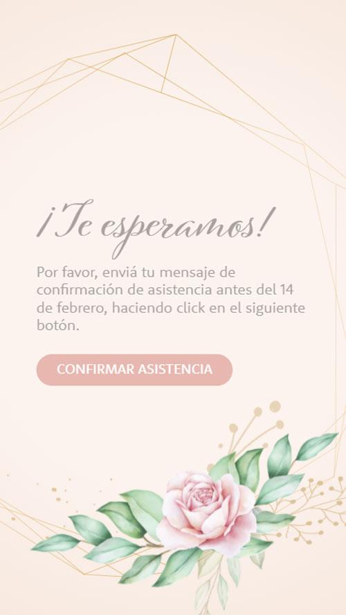 invitacion digital virtual confirmacion asistencia whatsapp
