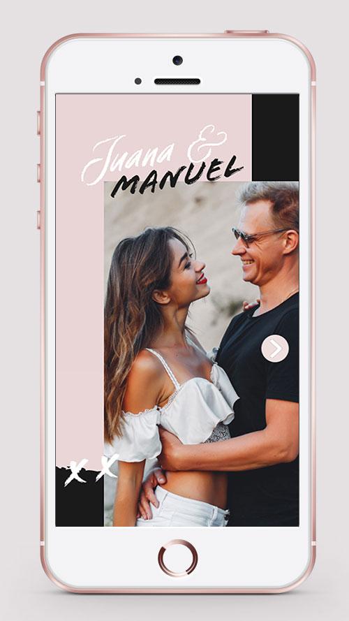 invitacion digital virtual boda whatsapp