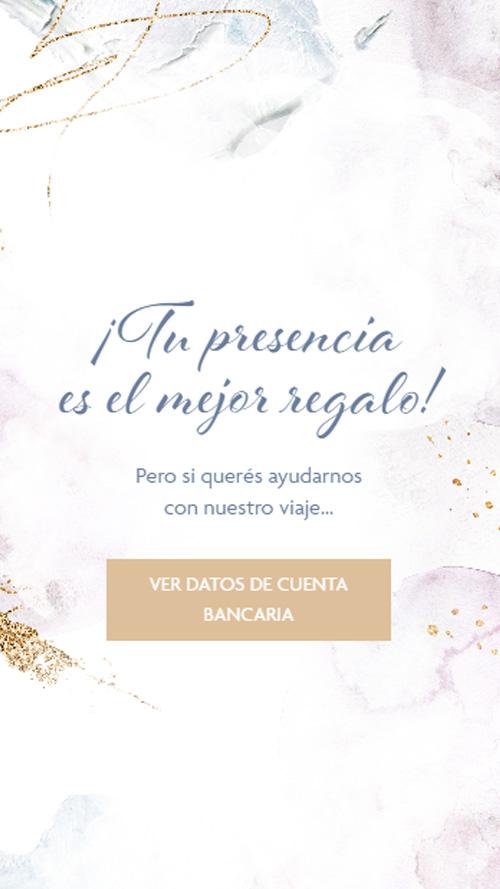 invitacion digital virtual casamiento boda lista regalos buzon cofre cuenta bancaria