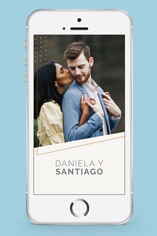 invitacion casamiento celular