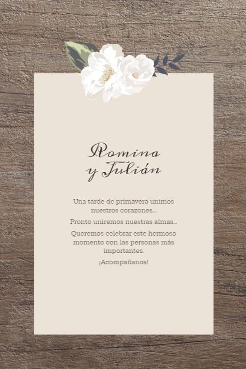 invitacion casamiento