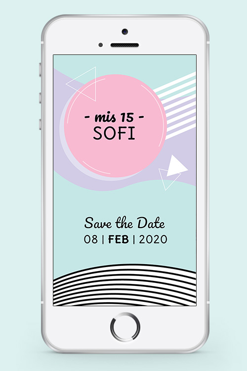 invitacion digital save the date